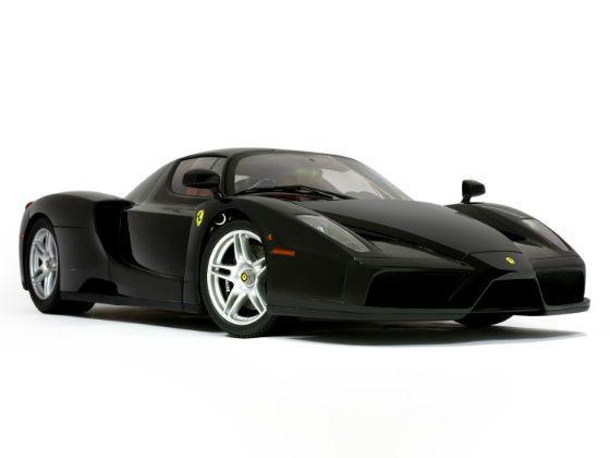 1:12 2002 Enzo Ferrari Kyosho model Review front