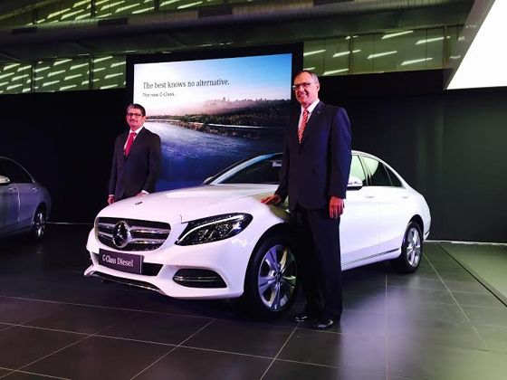 2015 Mercedes-Benz C220 CDI launched in India at Rs 39 90 lakh