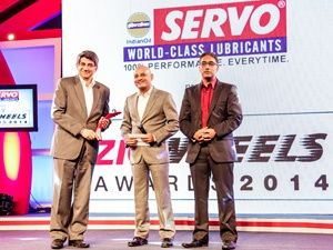 2014 ET ZigWheels Award: Readers' Choice Two-Wheeler of the Year Mahindra Gusto