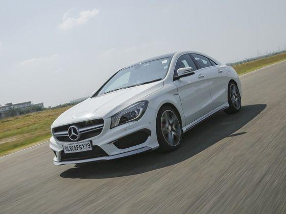 Sports car of the year 2014 is the Mercedes-Benz CLA 45 AMG