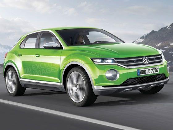 VW Polo-based SUV Rendering Revealed - ZigWheels