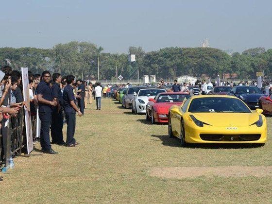 Parx Super Car Show Concludes In Mumbai Zigwheels