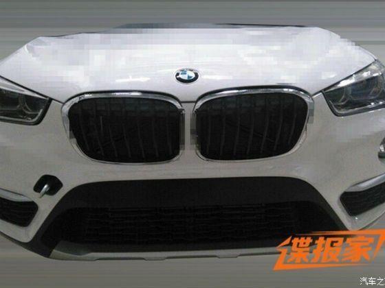 2016 BMW X1 undisguised