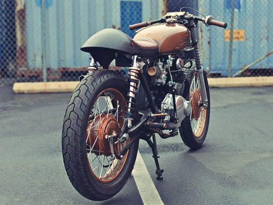 Chappell Customs cafe racer