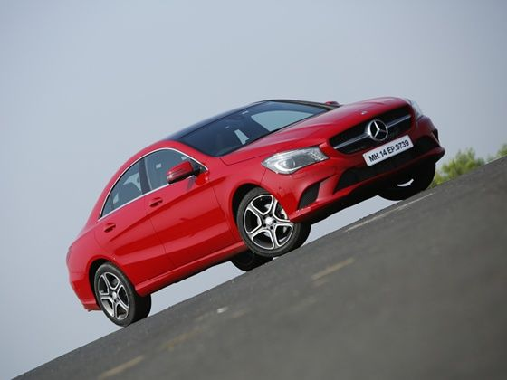Mercedes-Benz CLA front static