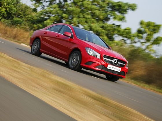 Mercedes Benz CLA In Action