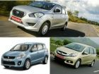 Datsun Go+ vs Maruti Ertiga vs Honda Mobilio Spec comparison