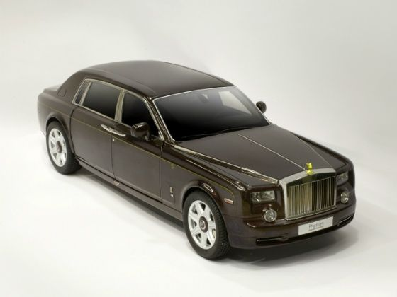 Rolls Royce Phantom Extended Wheelbase Dragon Edition Model front
