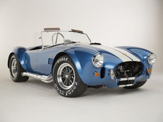 Shelby Cobra 289 FIA 50th anniversary edition unveiled