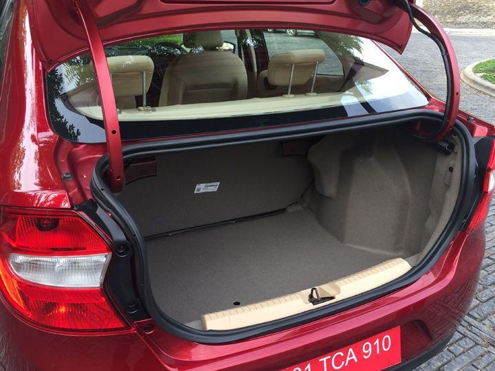 2015 Ford Figo Aspire Boot
