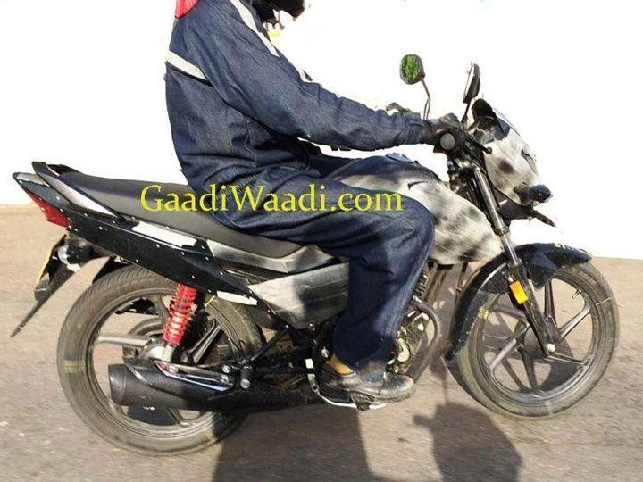 Honda Livo spy shots