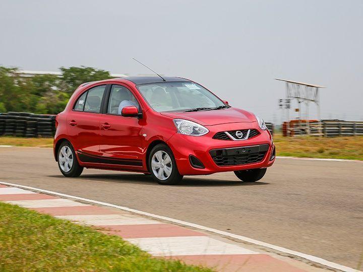 Nissan Micra CVT E-Shift cornering
