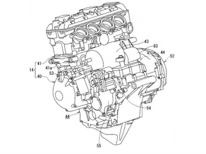 Suzuki Patents Hybrid Superbike With Semi Auto Transmission