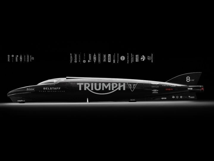 Triumph To Attempt New Land Speed Record At Bonneville Zigwheels