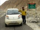 Tata Nano scales to Siachen - the highest battlefield on earth