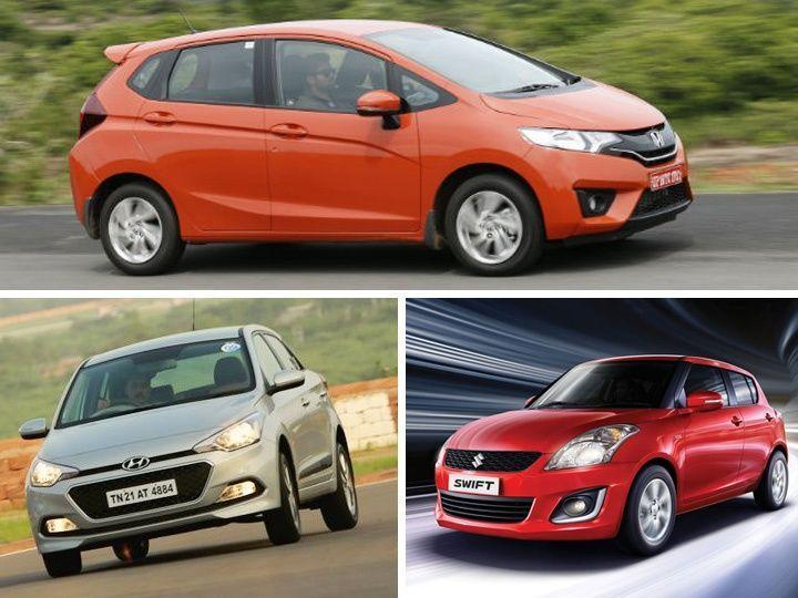 All New 2015 Honda Jazz Vs Hyundai Elite I20 Vs Maruti