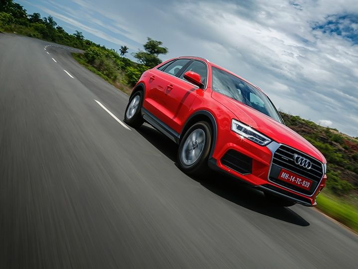 2015 Audi Q3 facelift tracking