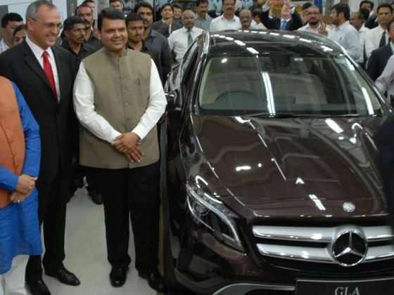 Mercedes-Benz launches locally produced GLA-Class
