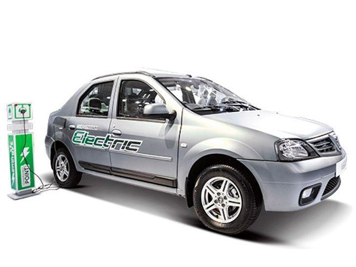Mahindra Electric Verito Shown At Fame India Eco Drive