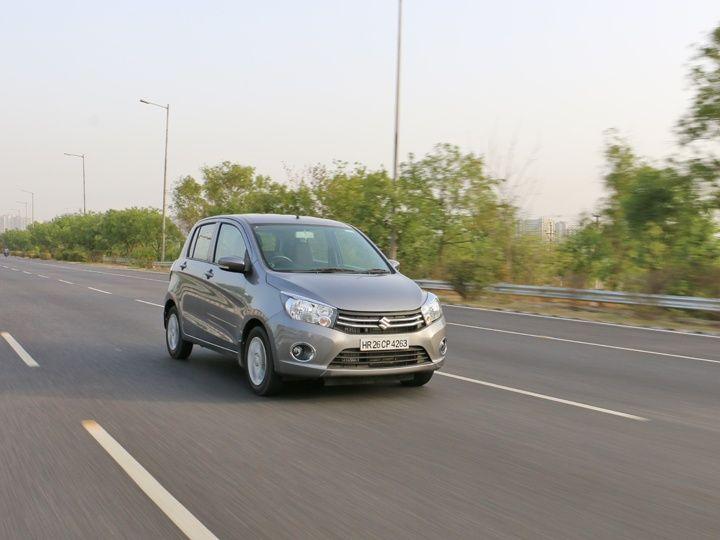 Maruti Suzuki Celerio diesel front action