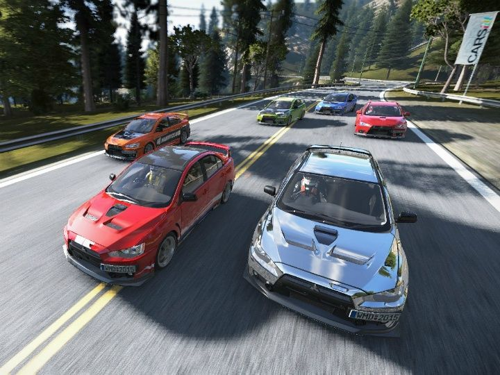 Project CARS review Mitsubishi EVO 10