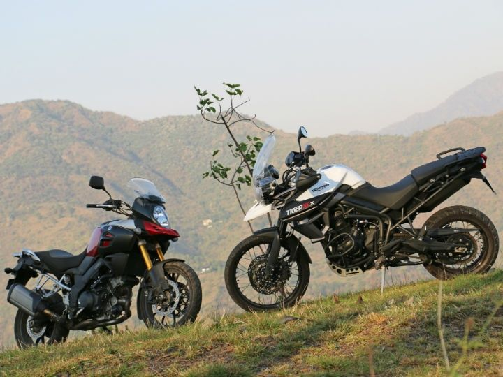 The best adventure bike - Suzuki V-Strom 1000 Vs Triumph Tiger 800 XCx