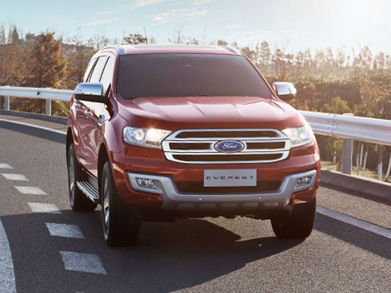 2015 Ford Endeavour Launched Earlier This Year In Thailand From Rs 2427 Lakh