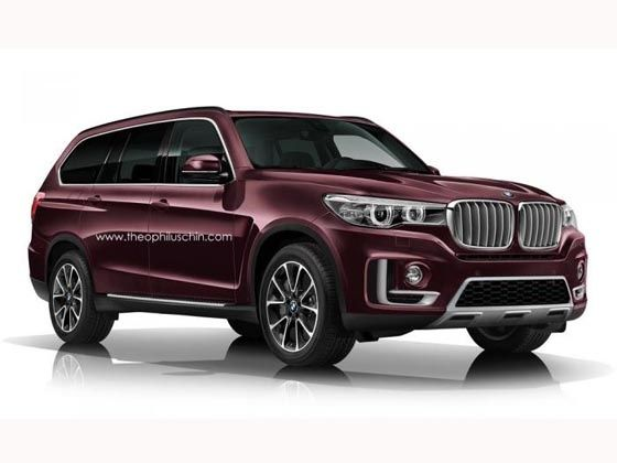 Details Of 2018 Bmw X7 Suv Emerge Zigwheels