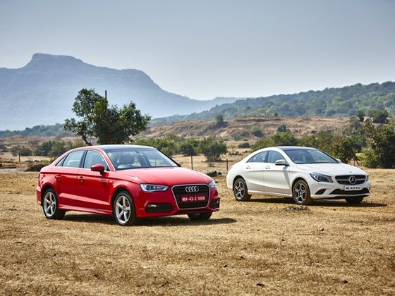 Mercedes Benz Cla Vs Audi A3 Diesel Comparison Review