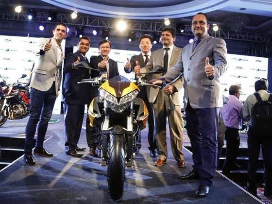 DSK-Benelli India launch