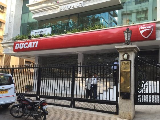 Ducati Showroom In Mumbai Bandra