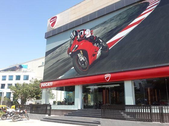 Ducati Showroom In Gurgaon