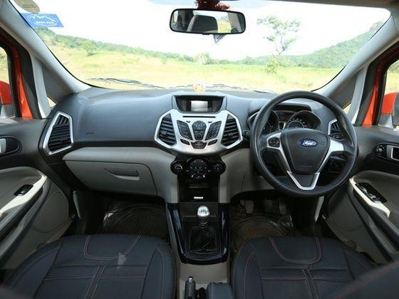 Ford Ecosport Cabin And Dashboard Design