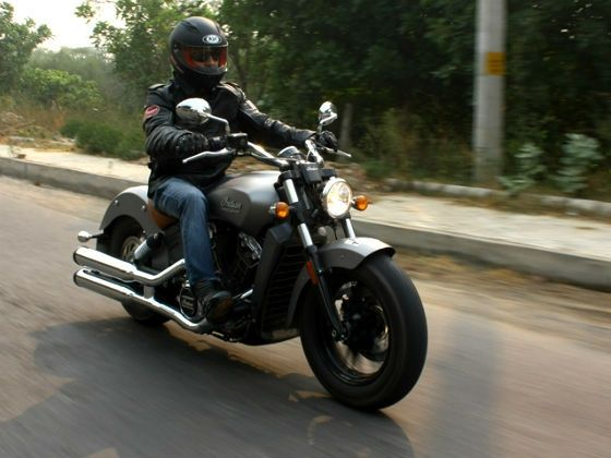 Indian Scout ZigWheels test ride