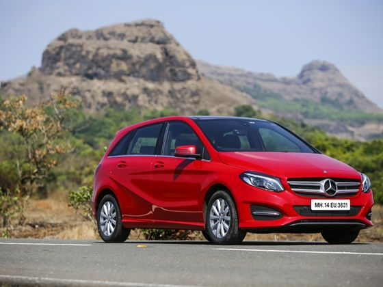 Mercedes benz 2015 b class b200 cdi india review zigwheels for How much is service b for mercedes benz