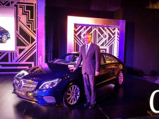 Mercedes-Benz CLS-Class Coupe launched in India