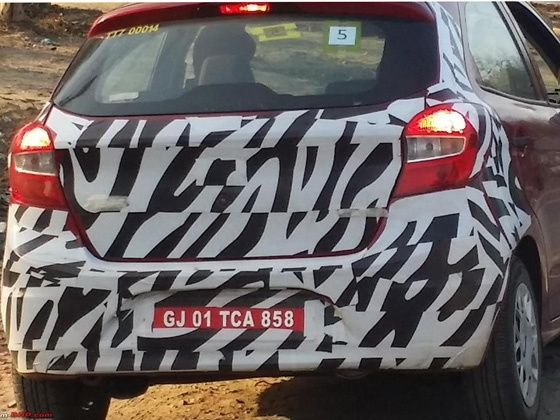 New Ford Figo With Automatic Transmission Caught Testing Zigwheels