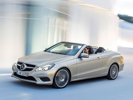 New Mercedes-Benz E-Class Cabriolet in action
