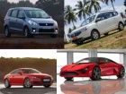 Upcoming Cars in April 2015