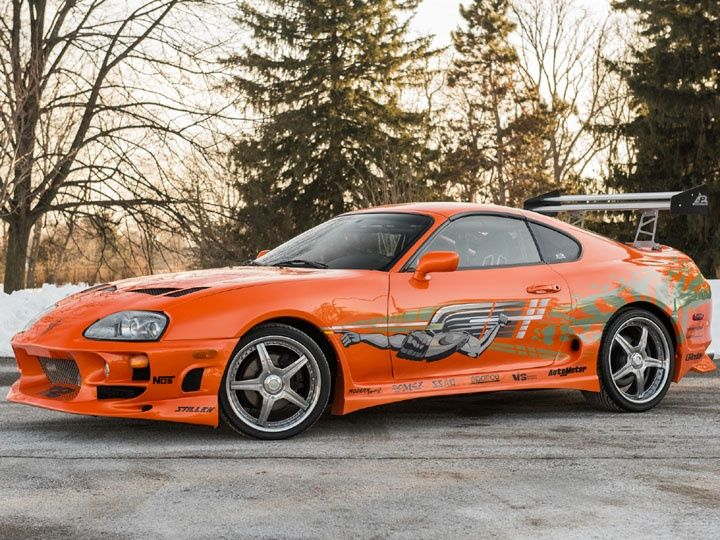 Toyota Supra The Fast And The Furious >> Auctioned Paul Walker S Fast And Furious Toyota Supra Sold Zigwheels