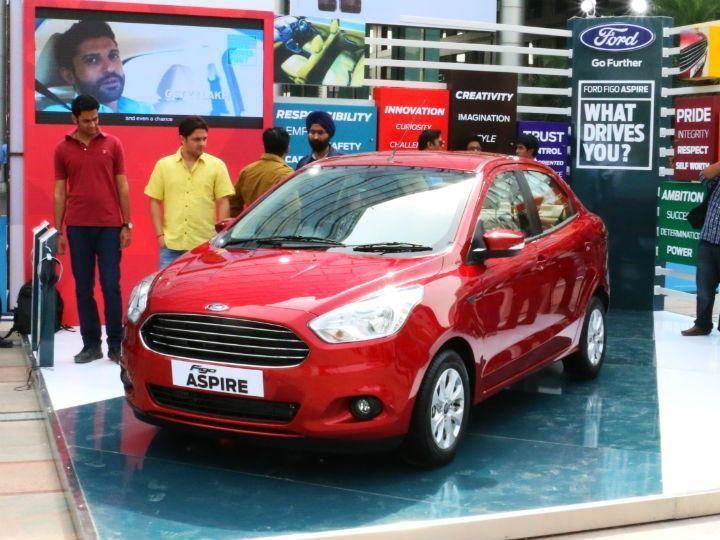 2015 Ford Figo Aspire Front Static