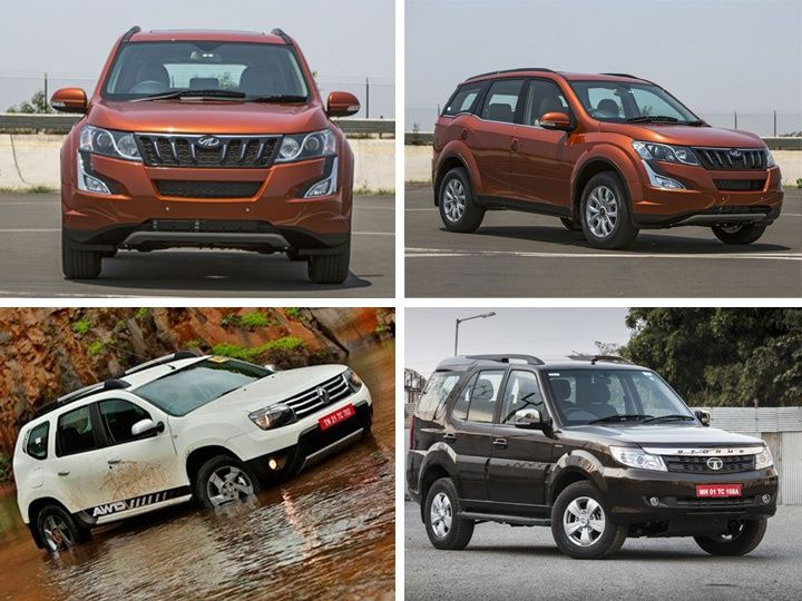 new age mahindra xuv 500 vs renault duster awd vs 2015 tata safari storme spec comparison. Black Bedroom Furniture Sets. Home Design Ideas