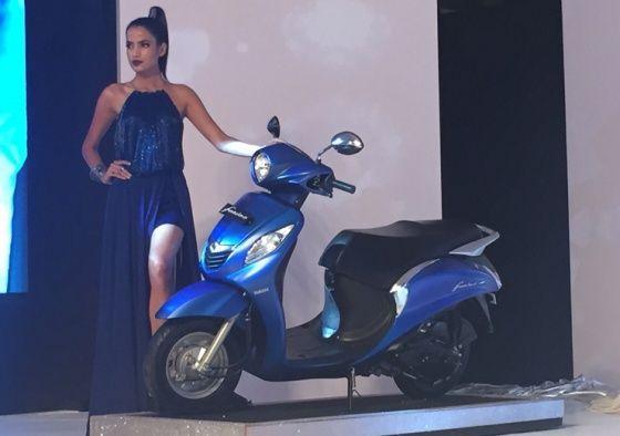 Yamaha Fascino launched at Rs 52,500