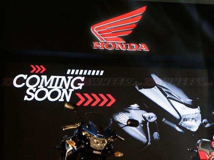 New Honda 125cc motorcycle
