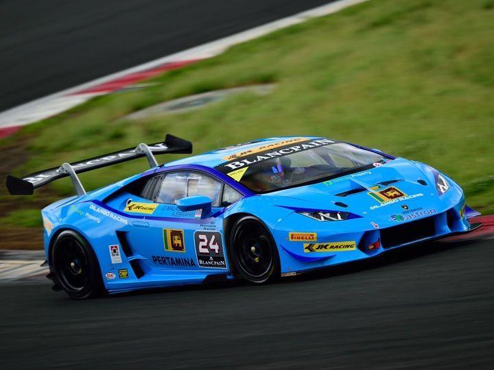 Armaan Ebrahim Lamborghini Super Trofeo Series