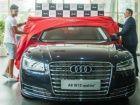 Virat Kohli takes delivery of Audi A8L W12