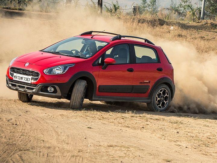 Fiat Avventura Abarth in action