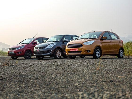 2015 Ford Figo vs Maruti Suzuki Swift vs Tata Bolt: Diesel Comparison Review