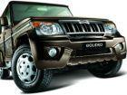 Mahindra Bolero tops SUV sales in October 2015