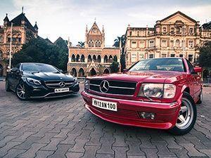 Mercedes Amg S63 Coupe Vs Benz 380 Sec Past Meets Present Zigwheels